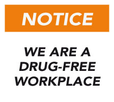 Atlantic Masonry Supply is a drug free work place