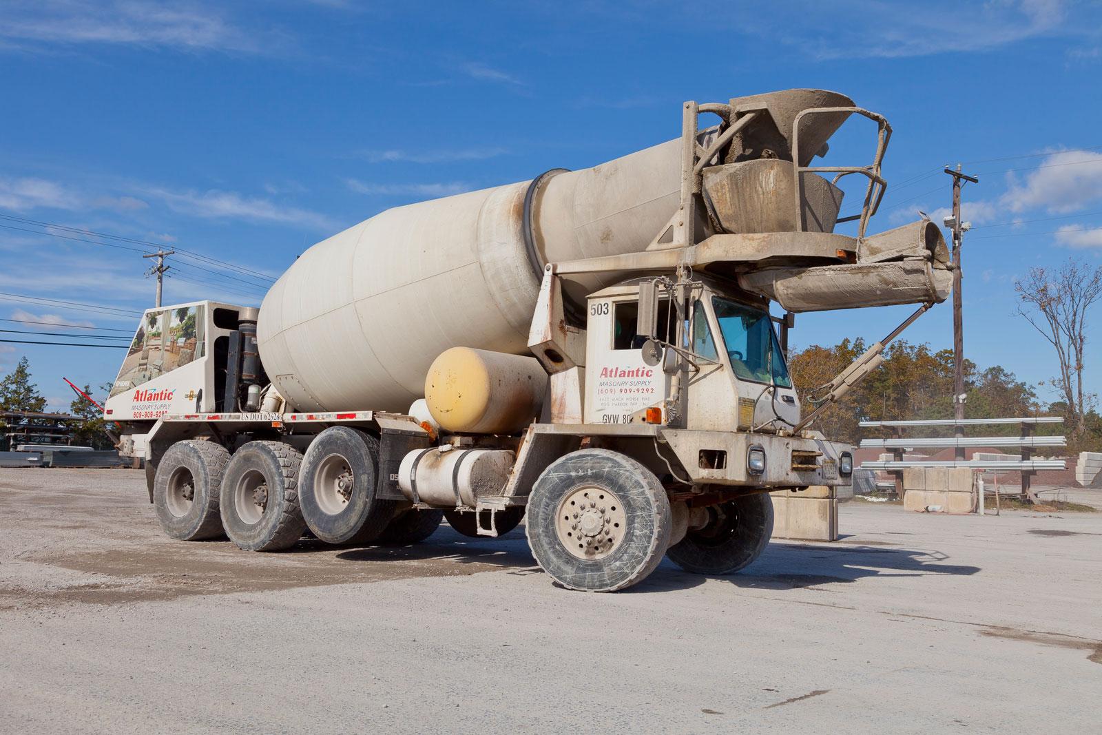 Ready Mixed Concrete Atlantic Masonry Supply