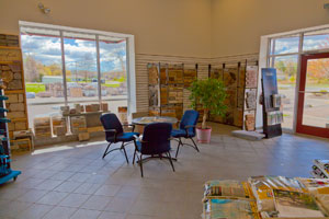 Atlantic Masonry Supply inside show room