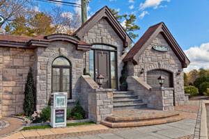 Check out our Techo Bloc exterior home display