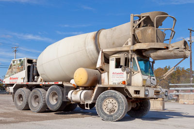 Atlantic Masonry Supply can delivery ready mixed concrete